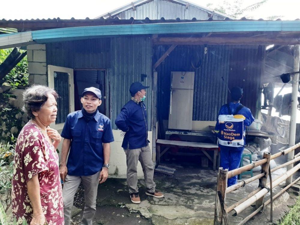DPD Nasdem Pasuruan Semprot Kampung Kumuh