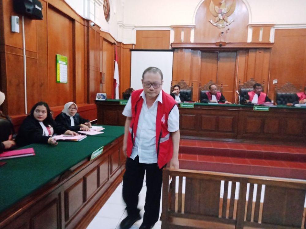 Direktur Bank Prima Master Agus Tranggono Diadili