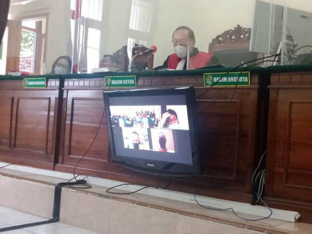 Febrianto Mahendra Diputus 3 Tahun Penjara