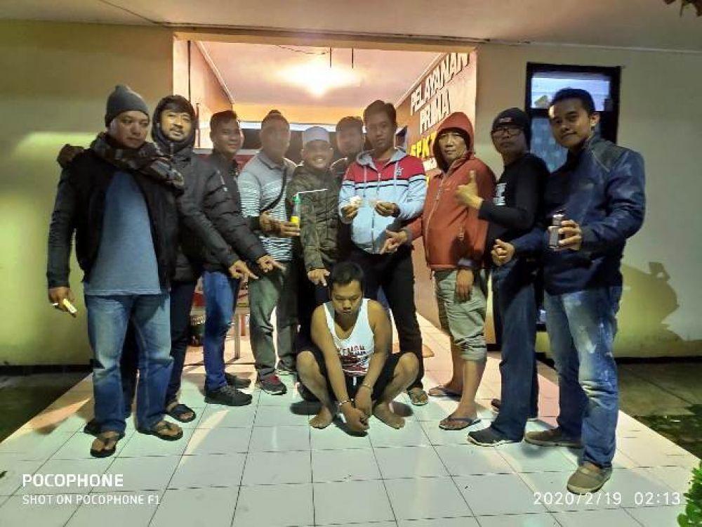 Polsek Nongkojajar Tangkap Bandar Sabu Pasrepan