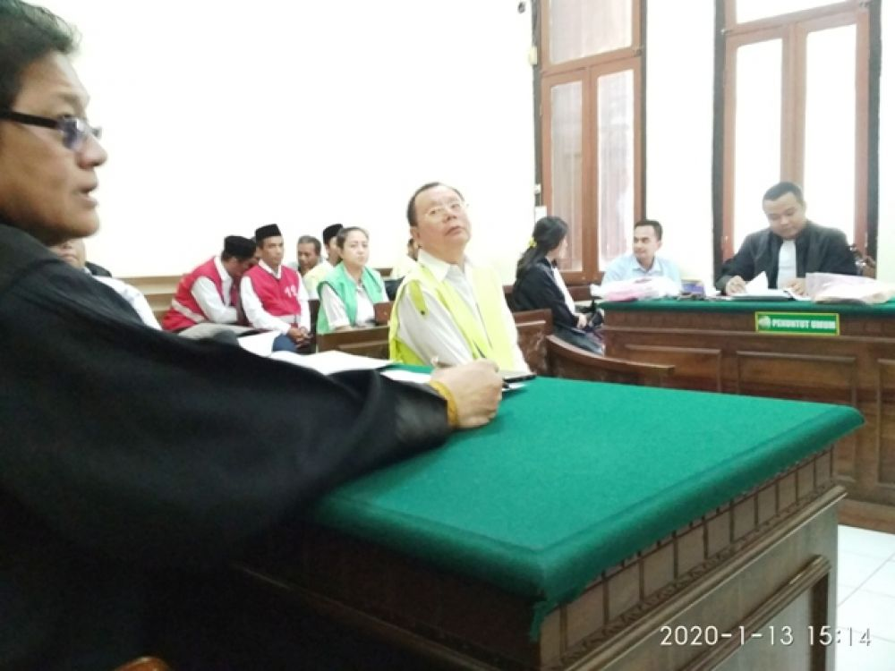 Winarto Calo Dispendukcapil Surabaya Diadili