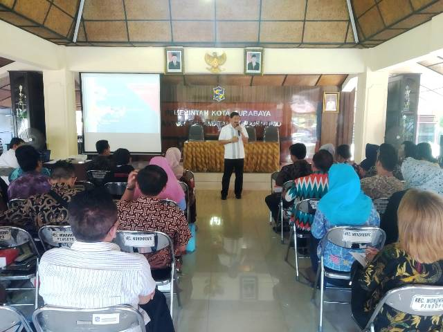 Sekcam dan Lurah Hadiri Sosialisasi BNNK Surabaya