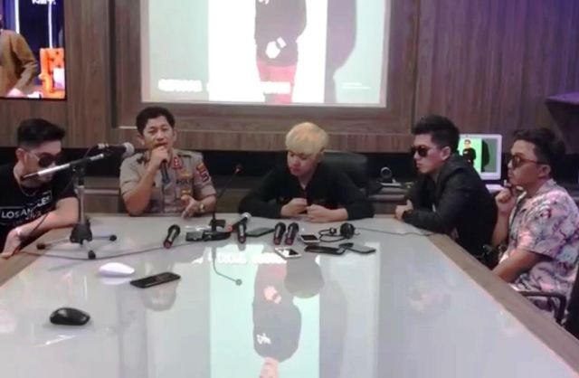 Video Klip Pintu Depan Band Gandeng Polres Banjar