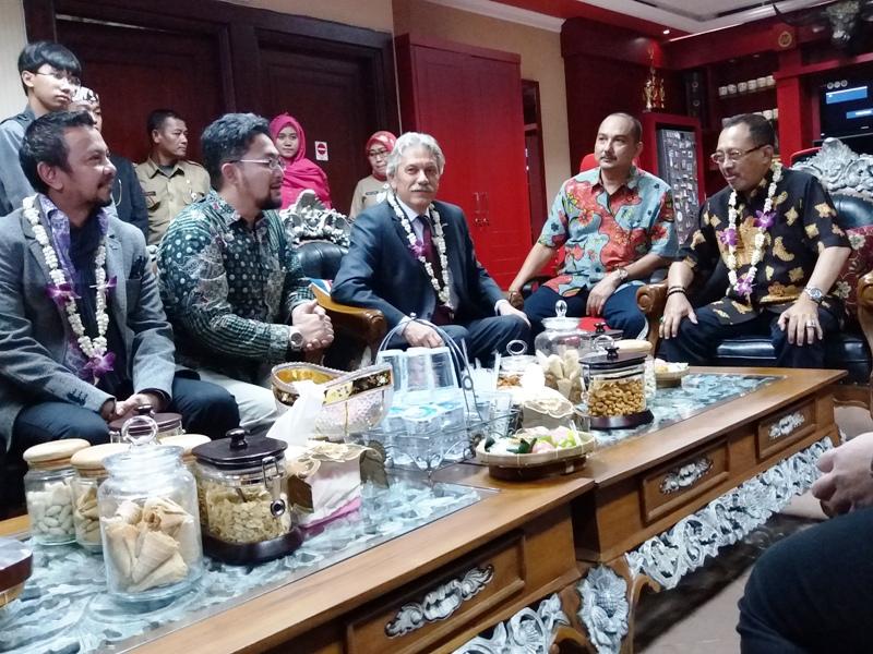 Dubes Kroasia Sambangi DPRD Kota Surabaya