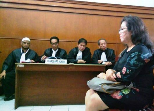 Dosen Hukum Ubaya Lanny Kusumawati Ditahan
