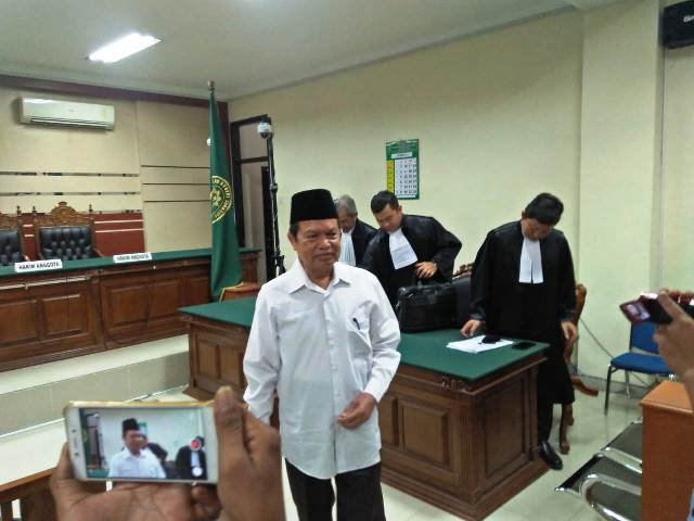 Mas'ud Yunus Diganjar 3 Tahun 6 Bulan Penjara