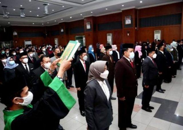 129 Pejabat Pemkot Surabaya Dipindah Tugas