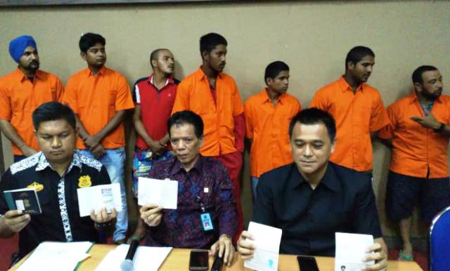 7 WNA Mesir dan India Ditangkap Imigrasi Perak
