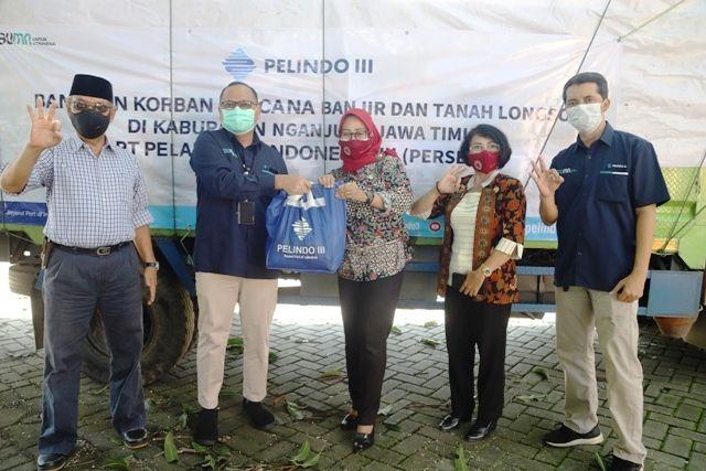 PT Pelindo III Kirim Bantuan Bencana Nganjuk