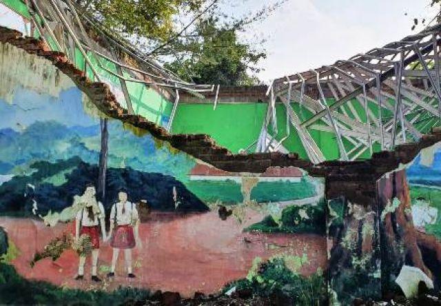 Gedung SDN Gentong Kota Pasuruan Dibongkar