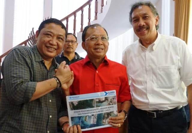 Gubernur Bali Setuju Desain Pelabuhan Benoa