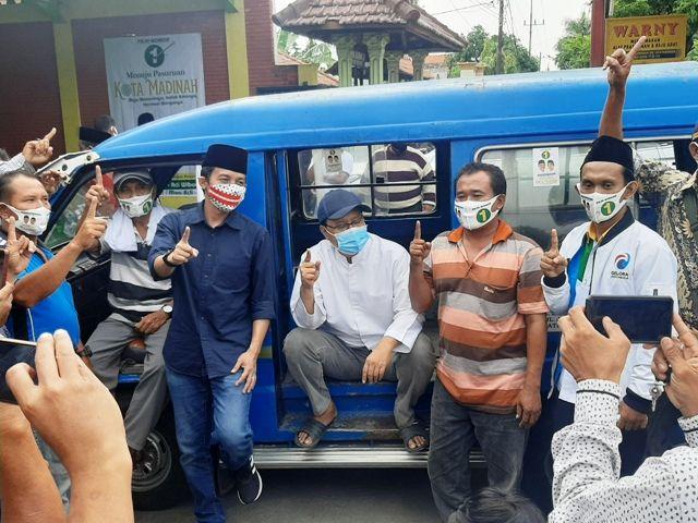 Gus Ipul Disupport Paguyupan Supir Angkot
