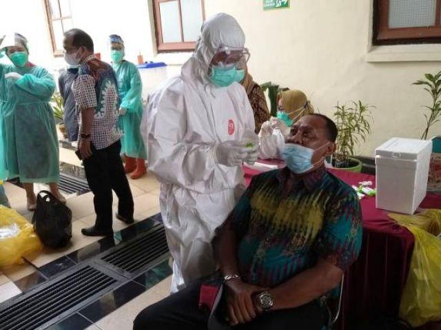 Imbauan Humas Agar Tidak Unras di PN Surabaya