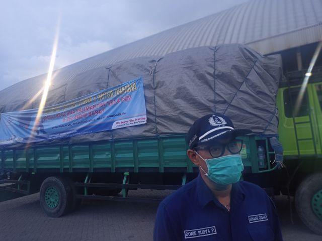 PT DLU Peduli Bencana Kalimantan dan Sulawesi