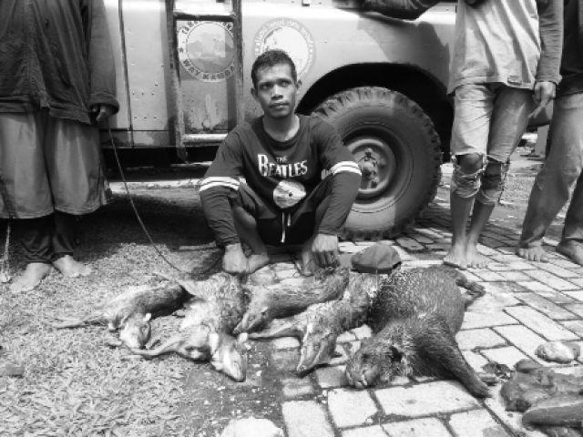 Pemburu Taman Nasional Way Kambas Ditangkap