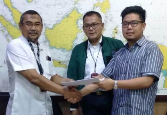 KM Kendhaga Nusantara Diserahkan PT Pelni
