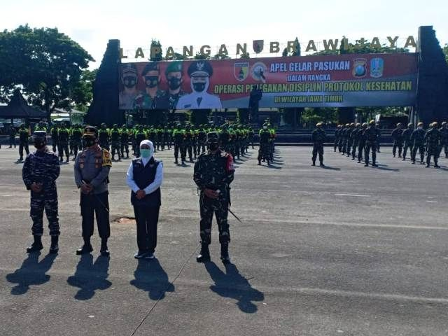 Kodam Kerahkan Pasukan Tempur PPKM Jilid II