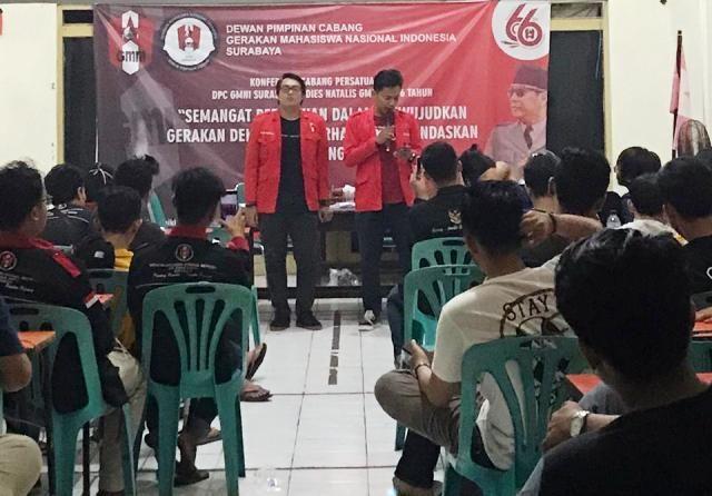 Konfercab DPC GMNI Surabaya Akhirnya Selesai