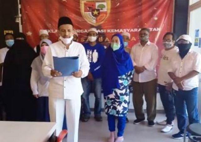Mantan FPI Deklarasi Ormas Perisai Bangsa
