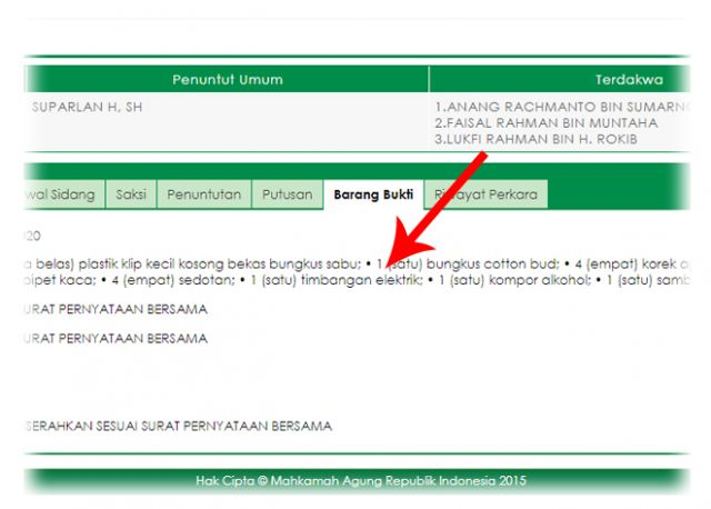 BNN Surabaya Keluarkan TAT Sabu Rampasan Bandar