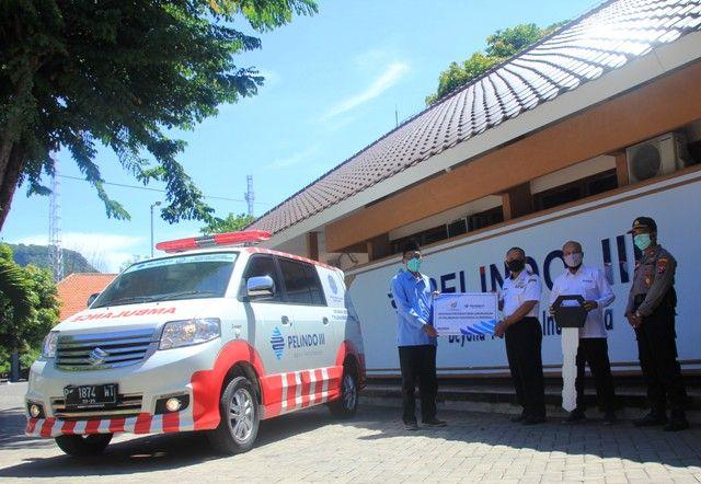 Pelindo 3 Berikan Bantuan Mobil Ambulance Gratis
