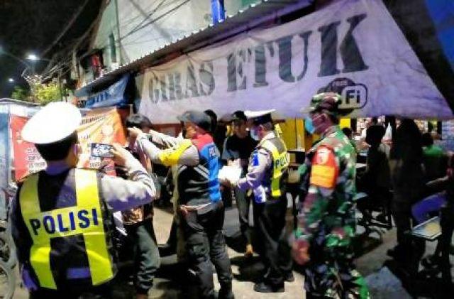 Razia Warkop Jalan Pahlawan Hingga Jalan Kranggan