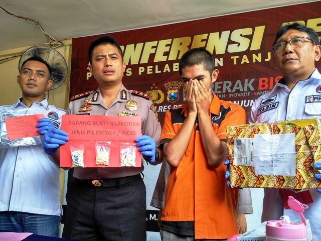 Polisi di Surabaya Tangkap Kurir Ineks di Samarinda