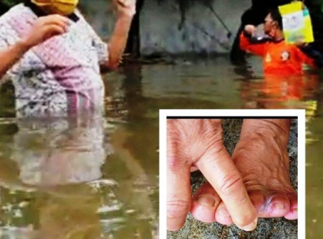 Sudah 3 Hari Desa Kedungringin Kebanjiran