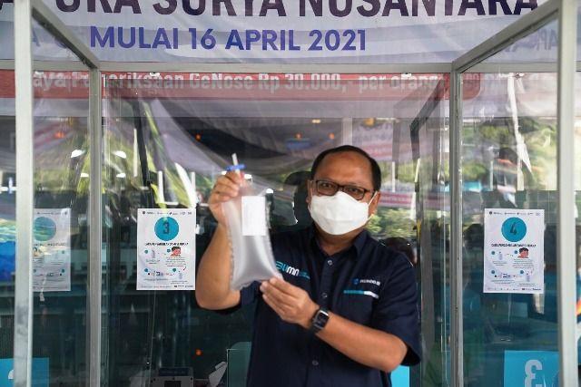 Terminal GSN Tanjung Perak Sediakan Ge-Nose C19