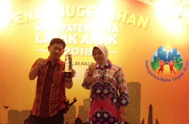 Kapolres Banjar Dapat Penghargaan di Surabaya