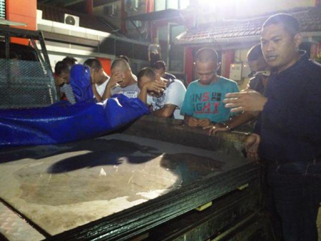 Komplotan Pembajak Truk Kontainer Ditangkap