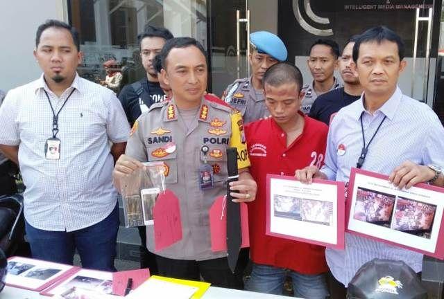 2 Rampok Minimarket di Surabaya Ditembak