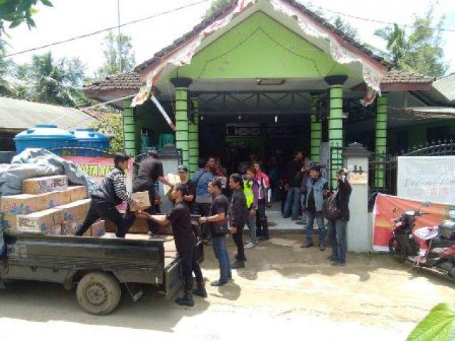 BMC All Bikers Surabaya Peduli Korban Bencana Pacitan