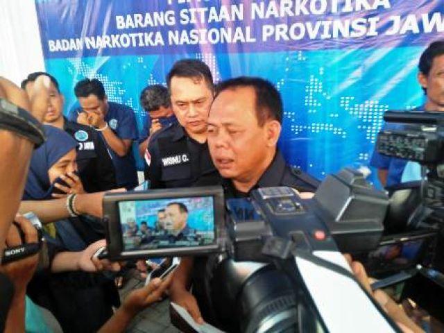 BNN: Surabaya Kota Indah Bagi Pengedar Narkoba