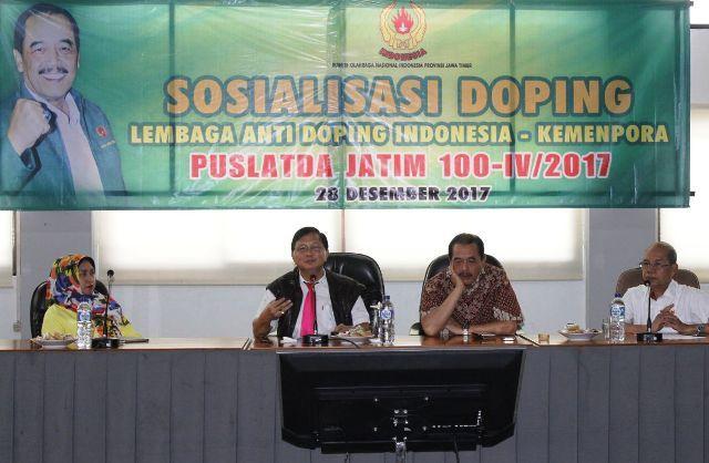 Koni Jatim Sosialisasi Bahaya Doping