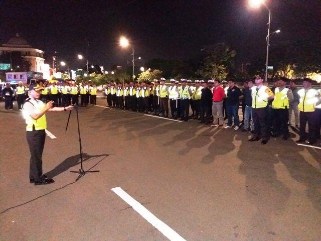 Kapolrestabes Surabaya Sebarkan Anggota di 23 Titik Demi Keamanan