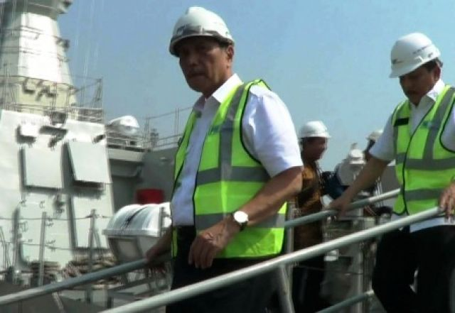 Luhut: Kapal Cepat Rudal Selesai Bulan Depan