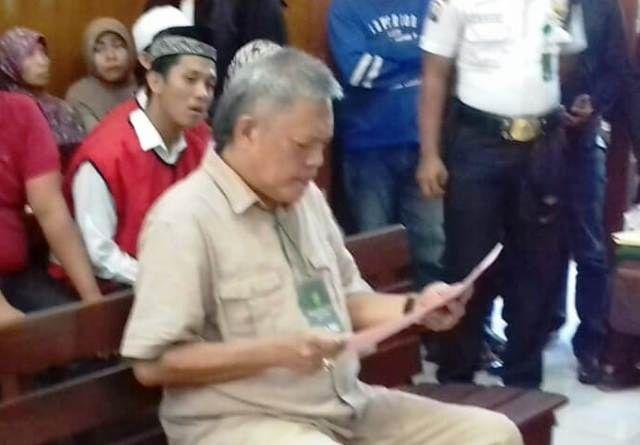 Jaksa Tuntut Bos Kapal Lukman Ladjoni 1 Bulan Saja