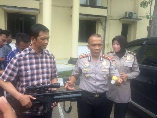 Pelaku Penembakan Mobil Ery Cahyadi Ditangkap