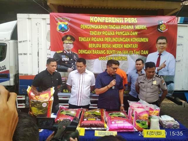 Bos Beras UD Leo Jaya Curangi Pelanggan