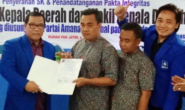 Pasangan Warsito-Moeljadi Segera Daftar ke KPU Kota Mojokerto