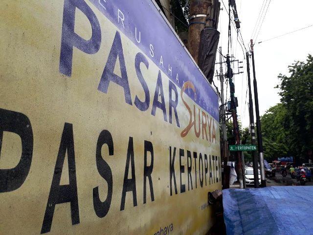 PD Pasar Surya di Kertopaten Melangar Perda