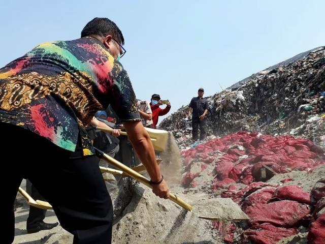 70 Ton Bawang Bombai Asal India Dimusnahkan