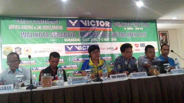 8 Negara Ramaikan Piala Wali Kota Surabaya