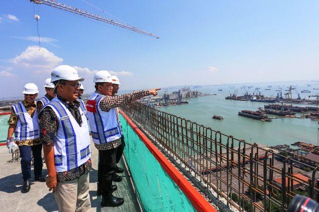 PT Pelindo III Segera Tuntaskan Tower Poros Maritim