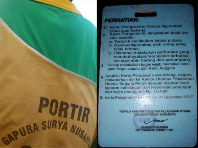 Ratusan Portir Pelabuhan Tanjung Perak Bermasalah