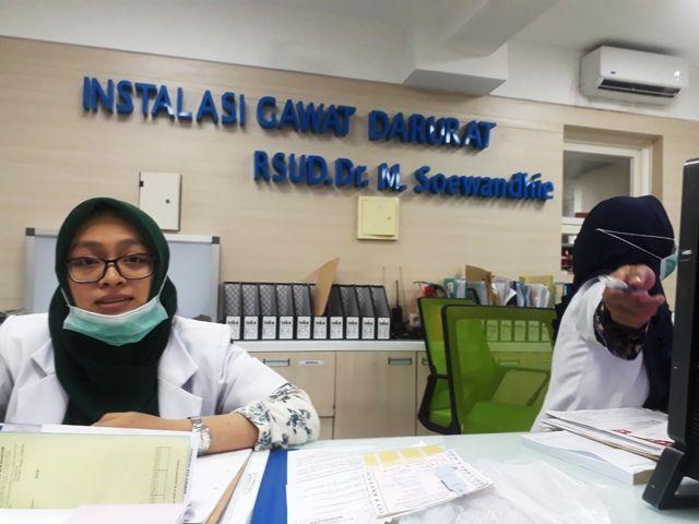 RSUD Dr. M. Soewandhie Persulit Jenazah Pengamen