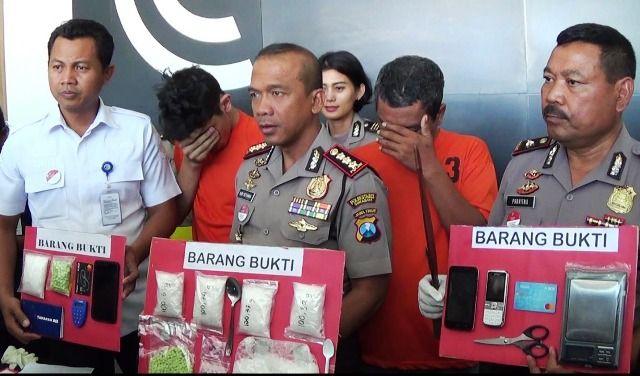 Sabu asal Jakarta Dikemas Dalam Teh Kotak
