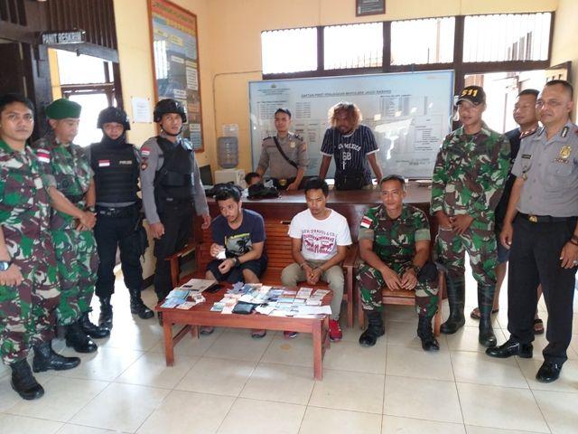 Satgas Pamtas Gagalkan Transaksi Narkoba di Perbatasan RI-Malaysia