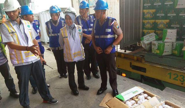 Tim Satgas Pangan Datangi Teluk Lamong